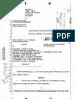 VMG Salsoul, LLC v. Madonna Louise Ciccone, 12-CV-5967-SVW (C.D. Cal.) (Complaint in Sampling Copyright-Infringement Case Over 'Vogue')