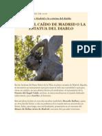 Estatua Del Diablo, Madrid