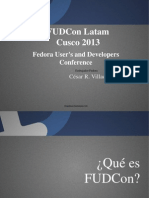 Fedora User's and Developers Conference