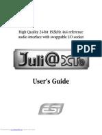 Juli Xte Users Guide