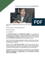 Ecuador Es El Eje de Una Red Por La Competitividad