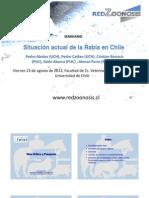 Situación actual de la Rabia en Chile