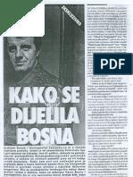 Kako Se Dijelila Bosna