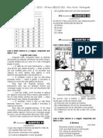 1ª P.D - 2013 (Port. 5º ano) - Cópia