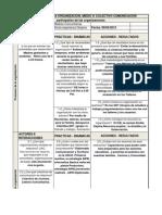 Matriz Diagnostica - Madres Comunitarias