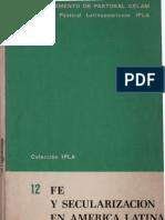 Fe y secularizacion en America Latina Jose Comblin S J Estuardo Arellano y Segundo Galilea.pdf