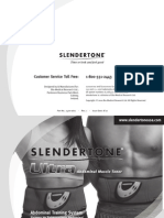 Slendertone Ultra Manual