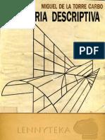 Geometria Descriptiva - Miguel de La Torre