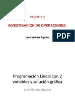Semana 2 Formulacion de Problemas de Programacion Lineal Con Dos Variabes y Solucion Grafica
