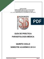 Guia p. Parasitologia Medica