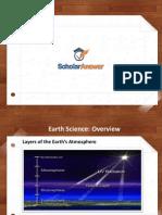 Earth Science Homework Help - ScholarAnswer