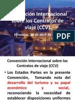 Convención Internacional sobre los Contratos de viaje (