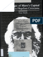 Tony Smith The Logic of Marxs Capital Replies to Hegelian Criticisms