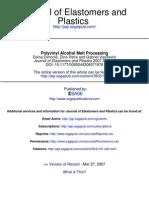 Journal of Elastomers and Plastics 2007 Dimonie 181 94