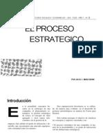 El Proceso Estrategico