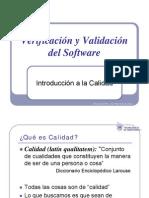 Modulo 1 - Introduccion a Verificacion y Validacion de SW