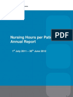NHpPD Annual Report July 2011- June 2012