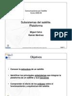 CSA08-3-Subsistemas  del Satélite