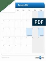 calendário-fevereiro-2014
