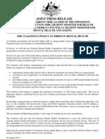 Coalition Mental Health Plan
