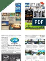 "Kuta Weekly-Edition 351 ""Bali's Premier Weekly Newspaper"""