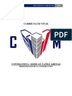 CURRÍCULOM VITAE CM