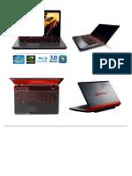 Laptop Toshiba Qosmio X770