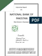 NBP Main Branch Khanewal 2003