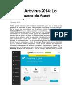 Free Antivirus 2014