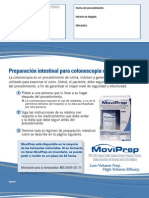 Preparación intestinal para colonoscopia con MoviPrep