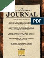 Master Seminary Journal 24.1