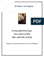 Rudolf Steiner Wegman Fundamentos Para Una Ampliacion Del Arte de Curar