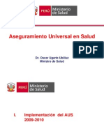 Aseguramiento Universal Peru