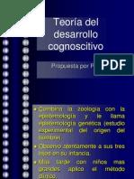 Teoría del desarrollo cognoscitivo