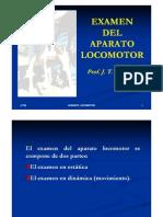 Semiologia Aparato Locomotor