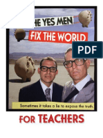Yes Men Fix the World - Teacher Guide