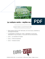 EURO-VOTE - La Voiture Verte