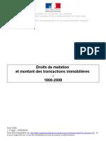 Jacques FRIGGIT crise immobilière Avril 2009