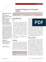 Pharmacological Therapy for Acute Spinal Cord.12