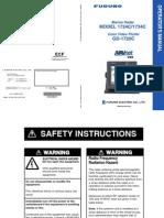 1724C 1734C GD1720C Operator s Manual