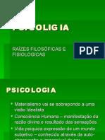 Surgimento da Psicologa - Powerpoint