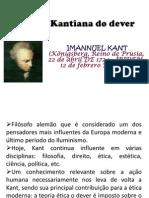 A ética Kantiana