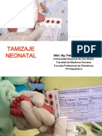 4. Tamizaje Neonatal