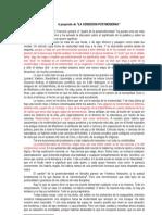 2.Lyotard y La Postmodernidad