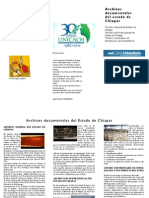 Triptico Archivos (Congreso Internacional de Historia 2012)
