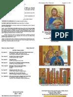 Saint Anne Bulletin 08-25-13