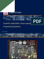 FoamPro 2000 2001 Systems