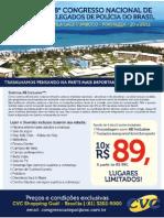 28º Congresso Nacional de Delegados de Pol[icia do Brasil