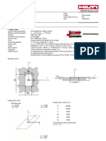 Anchor Design - Hilti (HP)