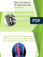 Intervertebral Disc Replacements